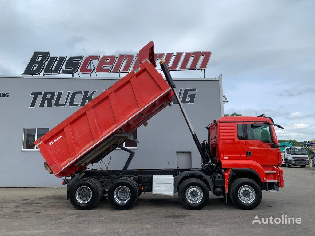 camion-benne MAN TGS 41.480 8x4 Kipper VS-Mont 18 cbm / Euro 6