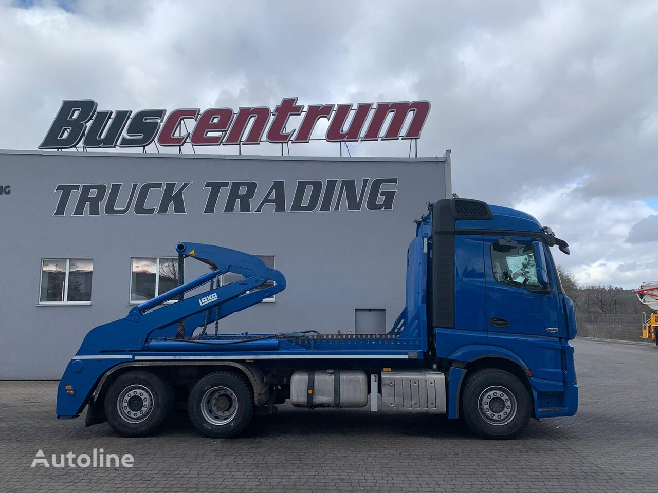 camion multibenne MERCEDES-BENZ Actros 2551